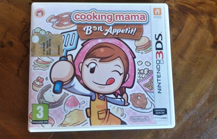 Il video gioco cooking mama per Nintendo DS