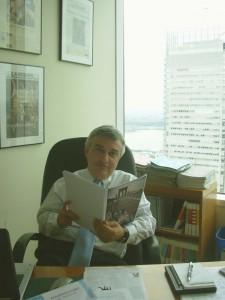 6 maurizio molinari nel suo ufficio