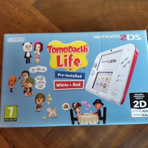la scatola del Nintendo DS 2