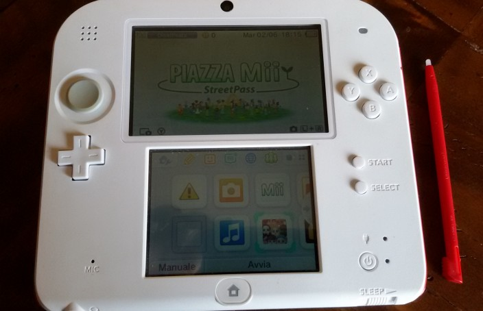 La console Nintendo DS2