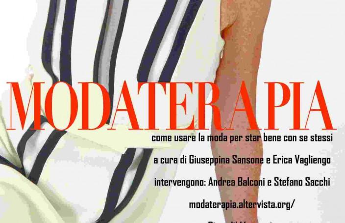 La copertina di MODATERAPIA di Stefano Sacchi e Andrea Balconi
